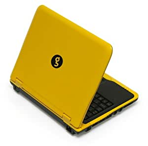 "Sylvania GNET28001SO Meso 8.9"" Netbook PC (1.6 GHz Intel Atom Processor, 1 GB RAM, 80 GB Hard Drive, Ubuntu OS) Yellow"