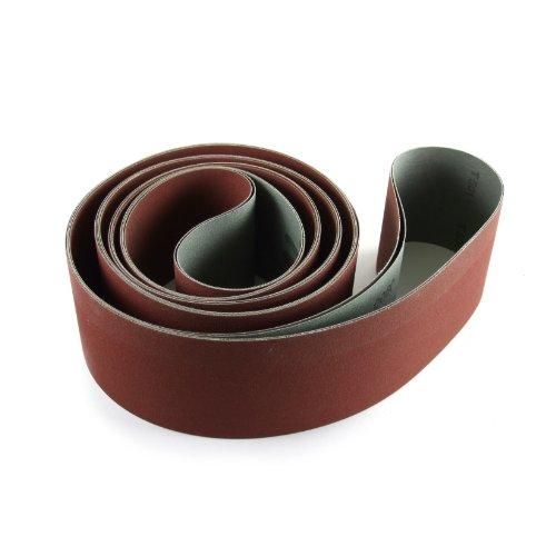 Fintech Abrasives BCE0400207206 Ceramic Sanding Belt 2 x 72 40 Grit - 6 Pack