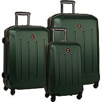 Timberland Gilmanton 3-Piece Hardside Spinner Luggage Set - Deep Forest