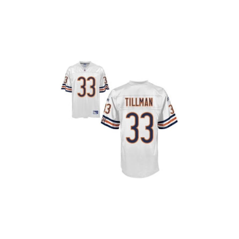 Hot Mens Chicago Bears #33 Charles Tillman Road Replica Jersey on PopScreen  supplier