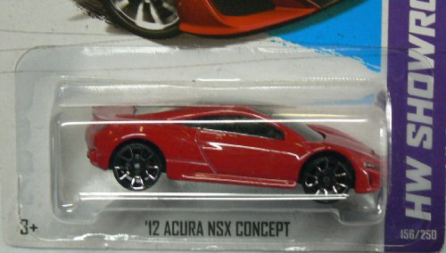 Hot Wheels Hw Showroom Red '12 Acura NSX Concept
