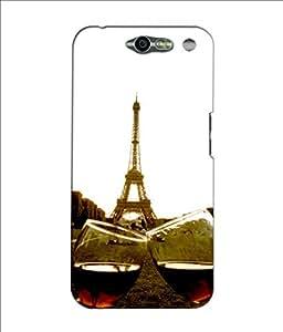 Crazymonk Premium Digital Printed 3D Back Cover For Infocu M812