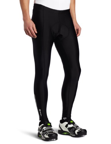 Canari Cyclewear Men's Pro Elite Gel Cycle Tights, Black, Large (Canari Cycle Pants compare prices)