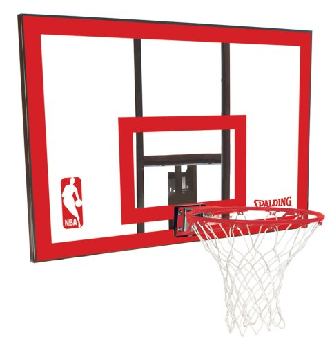 Spalding 79351 Backboard/Rim Combo with 44-Inch PolyCarbonate Backboard