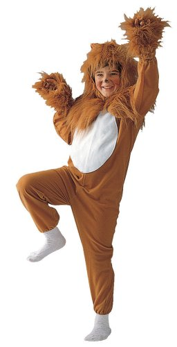 Kids Lion Costume - Child Small (4-6)
