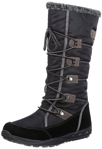 Superfit Cara Boot, Stivali da neve bambina, Black - Schwarz (Schwarz Kombi 02), 33