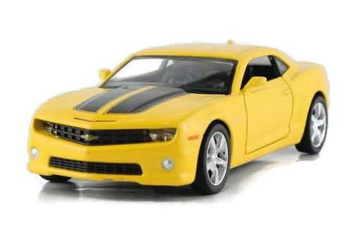 1:36 Chevrolet Camaro Bumblebee Alloy Diecast Car Model Toys Vehicle Yellow 2092 SJS (Yellow Camaro Bumblebee compare prices)