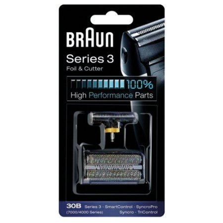 BRAUN 30B 7000 Series 4000 Series Mens Shaver Foil + Cutter Set Head Replacement (Braun Series 30b compare prices)