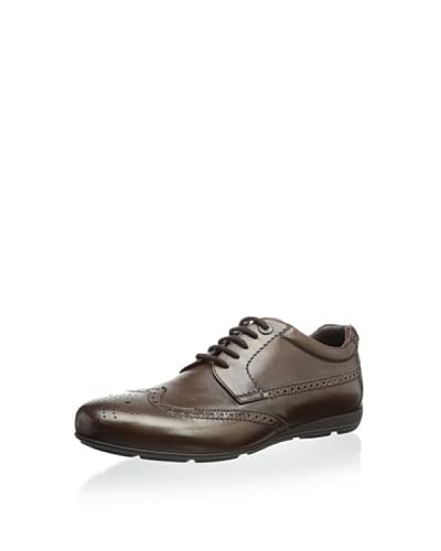 Giorgio Armani Men's Perforated Sneaker
