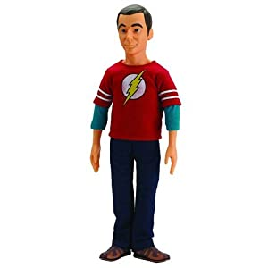 Wonderland Toys Bendabe and Poseable Doll, The Big Bang Theory Dr Sheldon Cooper, 17
