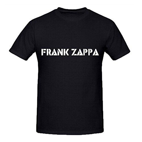 Zappa Frank Logo Tracks Mens O Neck Cool T Shirts Black