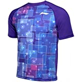 NEW LI-NING MEN KAOS T-SHIRT - BLUE ATSL397-2