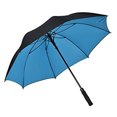 Atree Dual Layer Windproof& Waterproof Golf Umbrella 62/56inch Large Oversize Auto Open Straight Umbrella Durable and Strong Enough
