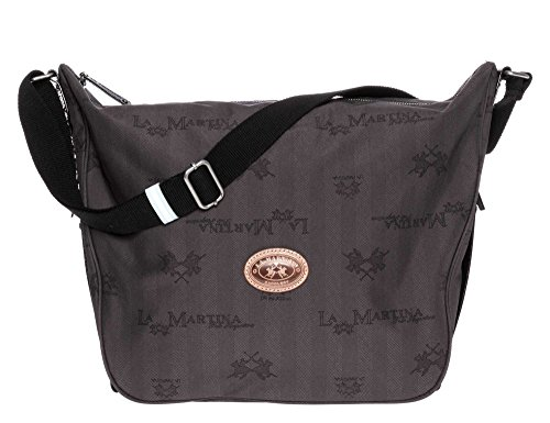 LA MARTINA Donne Shopping bag grigio scuro one size