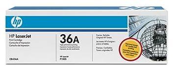 Hewlett packard toner pour hP laserjet p1505N (cB436A) cartouche de toner d'origine noir