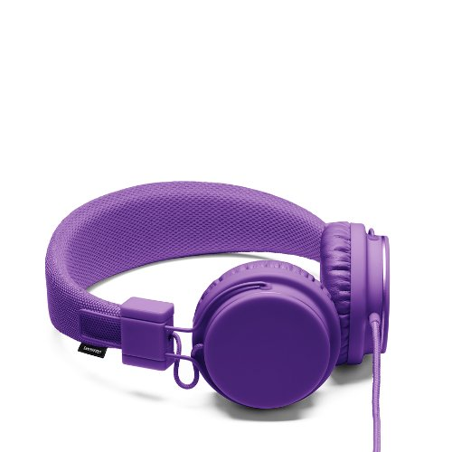 Urbanears Plattan Plus Folding Classic Full Size On-Ear Stereo Headphones With Volume Control For Apple Ipod/Iphone/Ipad, Purple