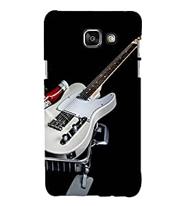 printtech Music Guitar Back Case Cover for Samsung Galaxy A7 (2016)