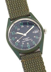 G.I. Vietnam Era Type Wind-Up Watch