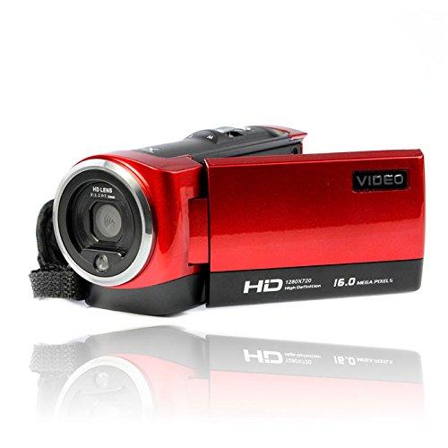 "Amjimshop Vovotrade(Tm) New 2.7"" Tft Lcd 16Mp Hd 720P Digital Video Recorder Camera 16X Digital Zoom Dv (Red)"