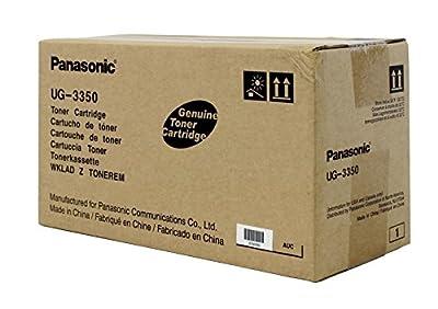 Panasonic Ug3350 Fax Toner Cartridge 7500 Page-Yield Black Simple Installation