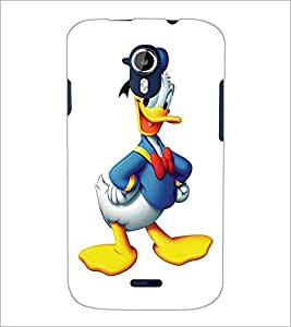 PRINTSWAG CHARTOON CHARACTER Designer Back Cover Case for MICROMAX A116 CANVAS HD