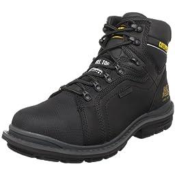 Caterpillar Men\'s Manifold Tough Waterproof Boot,Black,7.5 W US