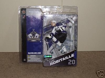 McFarlane Toys NHL Sports Picks Series 8 Canada Exclusive Action Figure Luc Robitaille (Los Angeles Kings) White Jersey