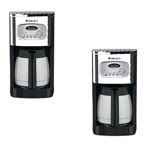 Cuisinart Coffee Maker Old Models : Cuisinarta Black 10-Cup Programmable Coffee Maker - Cuisinart Model - DCC-1150BK - Set of 2 Gift B