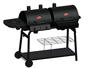 Chargriller 2020 Duo Combo Cooker Jr. - 26,000 BTU Gas/Charcoal Grill (Discontinued by Manufacturer)