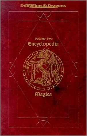 Encyclopedia Magica (Advanced Dungeons and Dragons), Vol. 2: D-P written by Inc. TSR