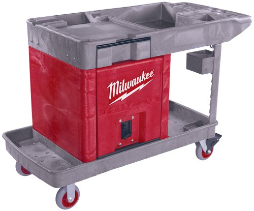 Milwaukee 48-60-5015 Trade Titan Industrial Work Cart with Lockable Cabinet - Milwaukee - ML-48-60-5015 - ISBN: B000FLVDKA - ISBN-13: 0045242150311