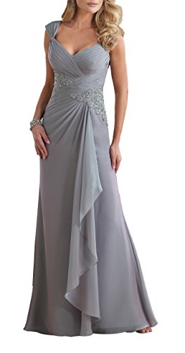 Butterfly Paradise Prom Dresses Chiffon Mother Of The Bride Dresses