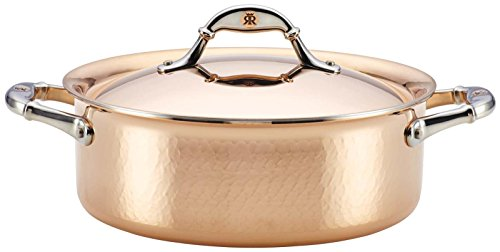Ruffoni Symphonia Cupra 4-Quart Covered Braiser - Copper
