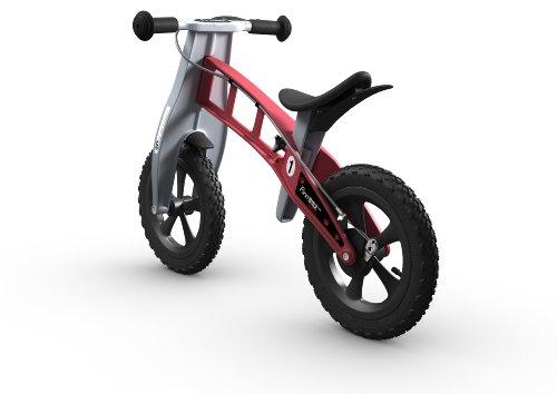 Imagen de Bici Cross FirstBIKE con el freno, rojo