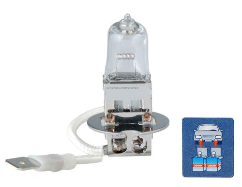 Osram H3 12V 55W Halogen Fog Lamp For Cars (Transparent)