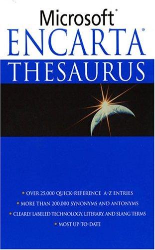 Microsoft Encarta Thesaurus, Microsoft