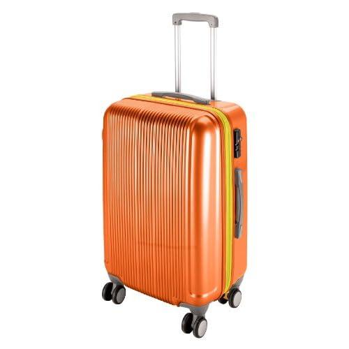 キャプテンスタッグ(CAPTAIN STAG) グレル トラベルスーツケース TSAロック付きWFタイプ L サンセットオレンジ UV-40