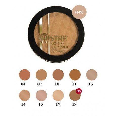 astra bronze skin powder terra compatta n10