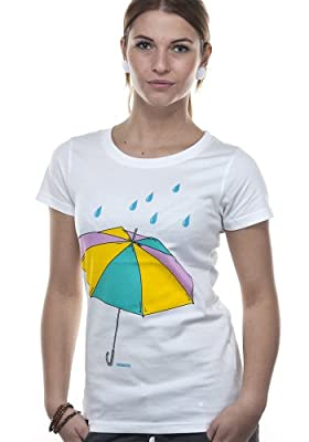 Wemoto T-Shirt UMBRELLA white