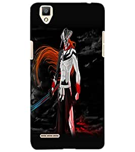 OPPO F1 WARRIOR Back Cover by PRINTSWAG