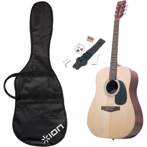 Amazon.com: ION Acoustic Guitar Music Instrument Kit IAGP04C