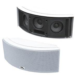 Pyle Home PDWR68W 500-Watt 3-Way Indoor/Outdoor Waterproof Center-Channel Speaker (White) (Pair)