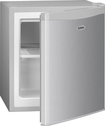 Bomann GB 388 Gefrierbox / A++ / 51 cm Höhe / 117 kWh/Jahr / 30 Liter Gefrierteil / regelbarer Thermostat / Kühlmittel R600a / silber