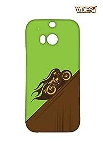 VDESI Designer Matte Back Cover For HTC One M8 -215401252