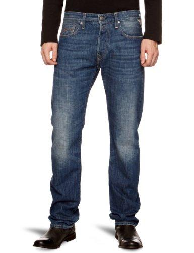 Replay Jennon Straight Men's Jeans Night Blue 28W x 34L