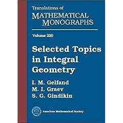 【クリックで詳細表示】Selected Topics in Integral Geometry (Translations of Mathematical Monographs) [ハードカバー]