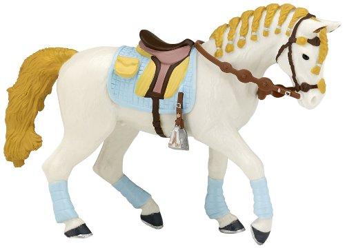 Papo Trendy Riding Women's Horse, Blue