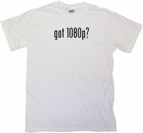 Got 1080P Men'S Tee Shirt Xl-White