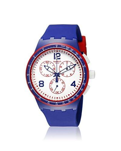 Swatch Women's SUSZ100 Blue Silicone Watch