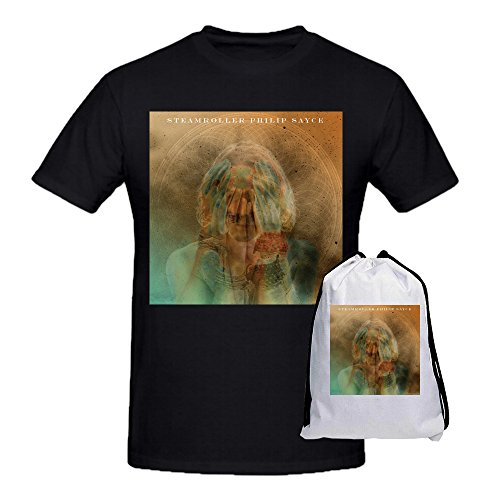 Philip Sayce Steamroller Owl Tee Shirt For Men Black (Weed Steam Rollers compare prices)